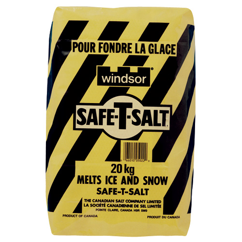 Sel de déglaçage Safe-T-Salt(MD), 20 kg
