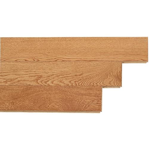 Plancher de bois franc en chêne, provincial