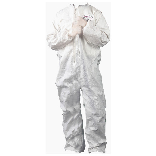 Hooded Coveralls - Zippered Front - Size XL - 25 Pack