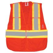 Degil RefleXWar Safety Vest - Fluorescent Orange