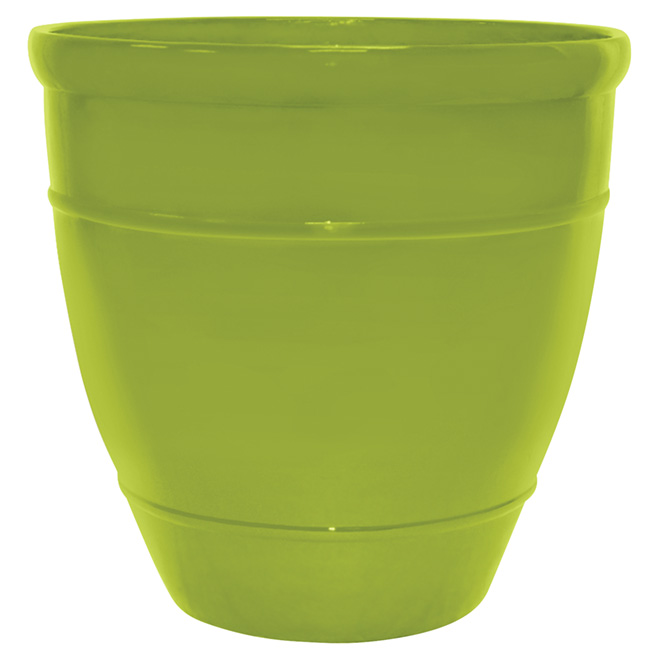 "Jardinière Wright, 18"", vert"