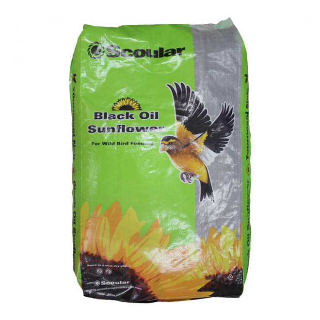 Graines de tournesol Emerald Farms pour oiseaux, sac de 8 kg
