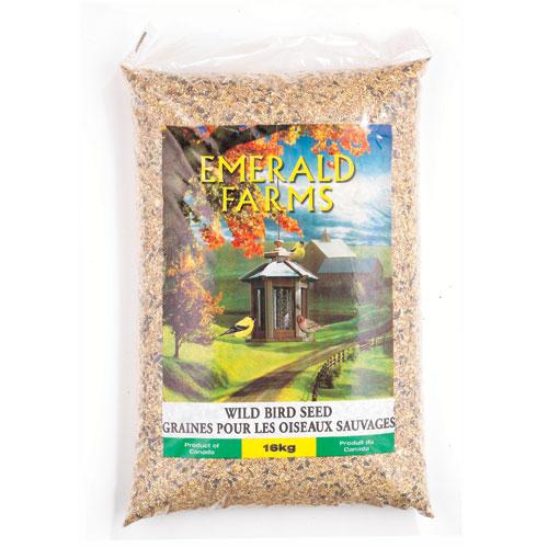 Graines pour oiseaux sauvages, 16kg