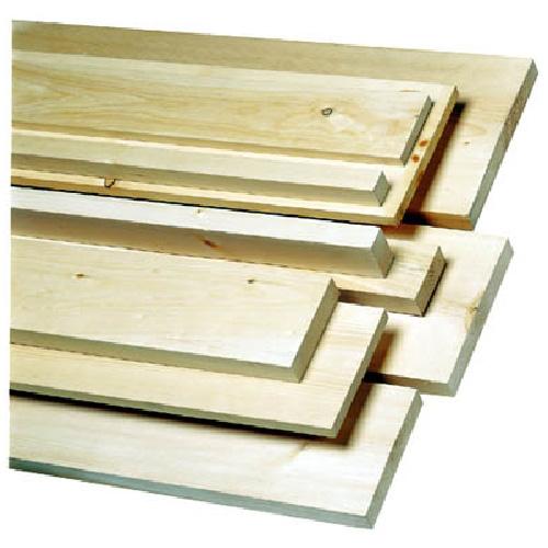 Pin blanc, « Shed Stock », 1 po x 3 po x L/A