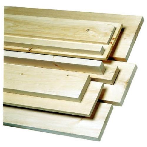 Planche de pin noueux 1 po x 6 po x 10 pi