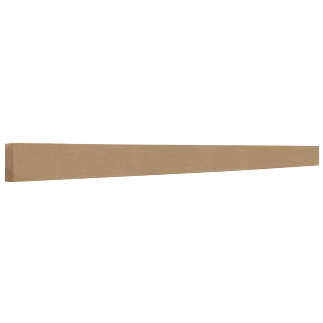 """D4S Finger Jointed Pine Moulding - 1"""" x 4"""" x 8' - Natural"""