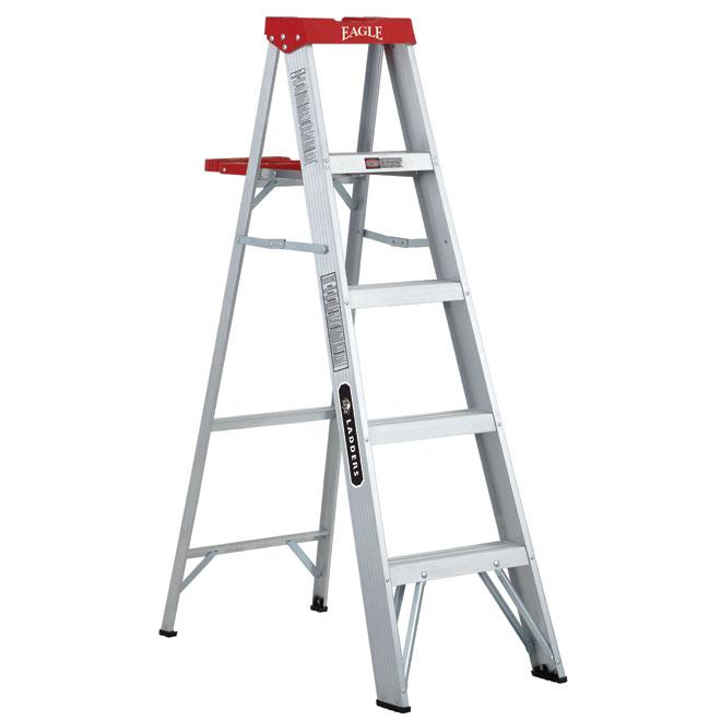 aluminium step ladder. Aluminium Stepladder - 5\u0027 Step Ladder