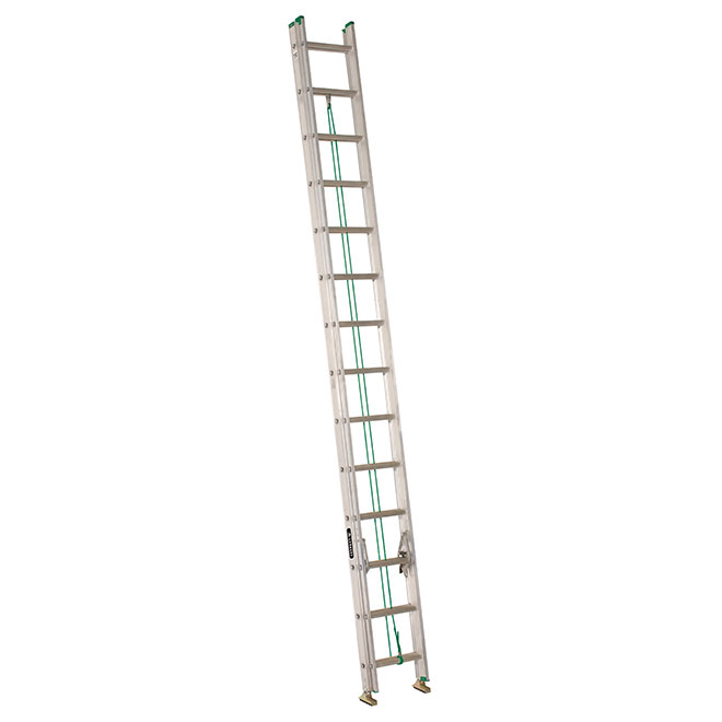 Eagle Extension Ladder - T2 - Aluminum - 28-ft LP-2028E