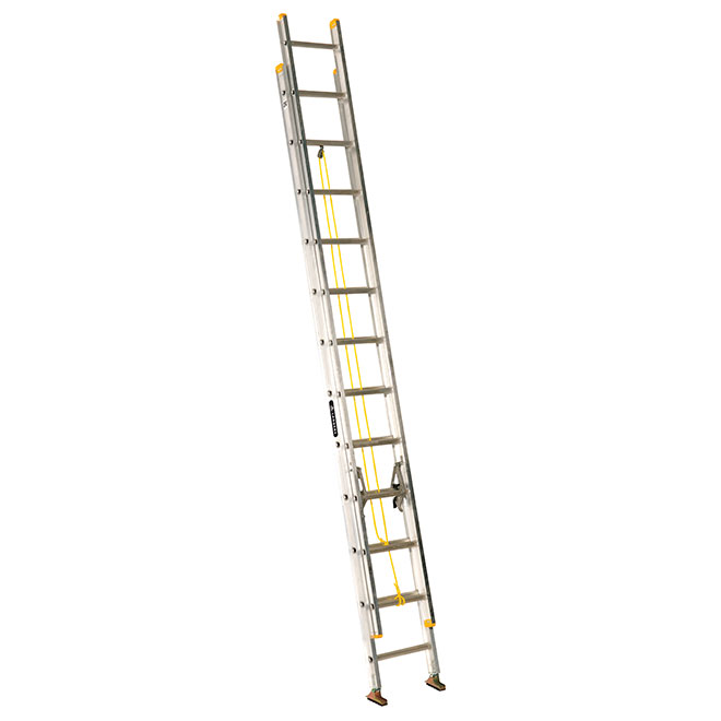 Eagle - Extension Ladder - Type 1 - Aluminum - 24-ft - Aluminum