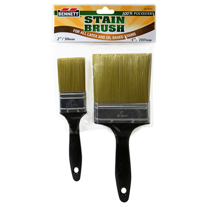 Benett - Stain Paintbrush Set - 2/Pack