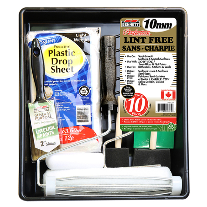 Bennett - Paint Kit - Lint-Free - 10 pieces
