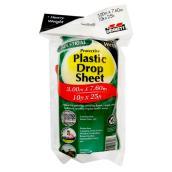 Toile protectrice en plastique