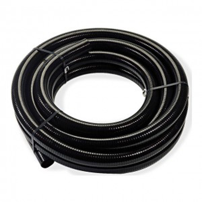 Agricultural Pipe - Perforated - 4'' x 150' - Black