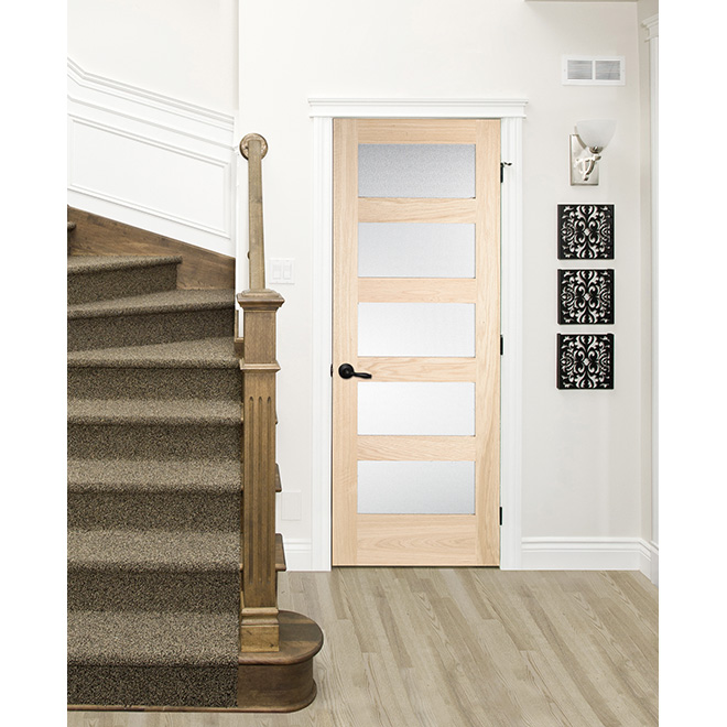 """""""Morocco"""" 5-Lite French Door - 28"""" - Natural"""