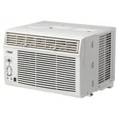Climatiseur horizontal pour fenêtre, 10 000 BTU, blanc
