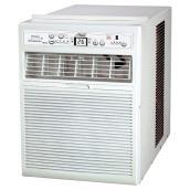 Climatiseur vertical pour fenêtre, 10 000 BTU, blanc