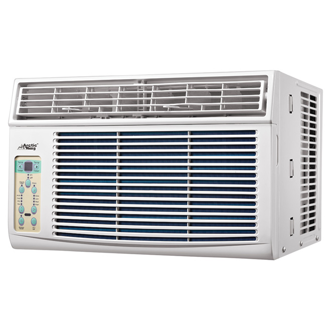 Horizontal Window Air Conditioner - 6 000 BTU - White