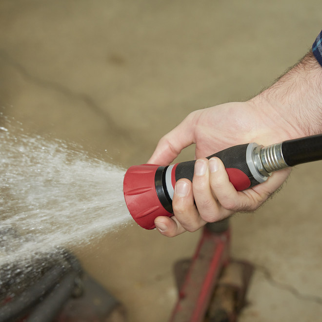 Adjustable Power Flow Nozzle