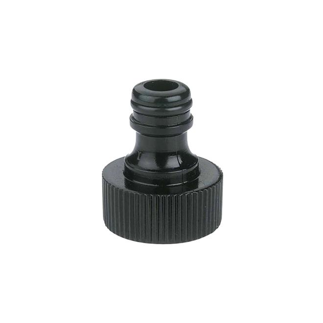 Raccord pour robinet et tuyau d'arrosage, vert/noir