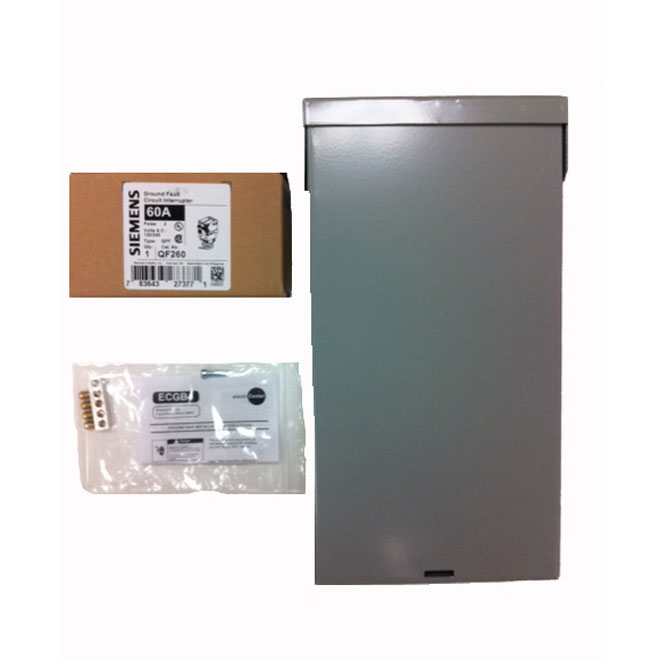 SIEMENS Electric Panel for Spa W0408ML1125-60 | RONA
