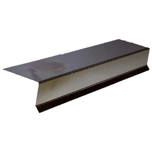 Galvanized Metal Deck Flashing - 60""