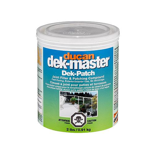 Composé pour joints et de nivellement Dek-Patch, 0,91 kg