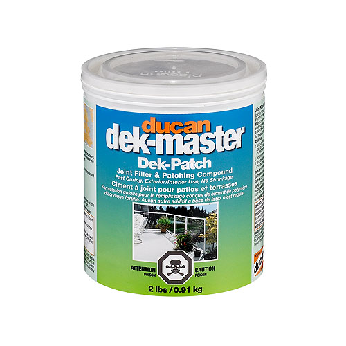Dek-Patch Filler and Levelling Compound - 0.91 kg
