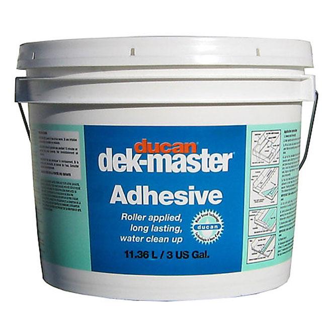 Adhésif à base d'eau pour revêtement de vinyle 11,36 l