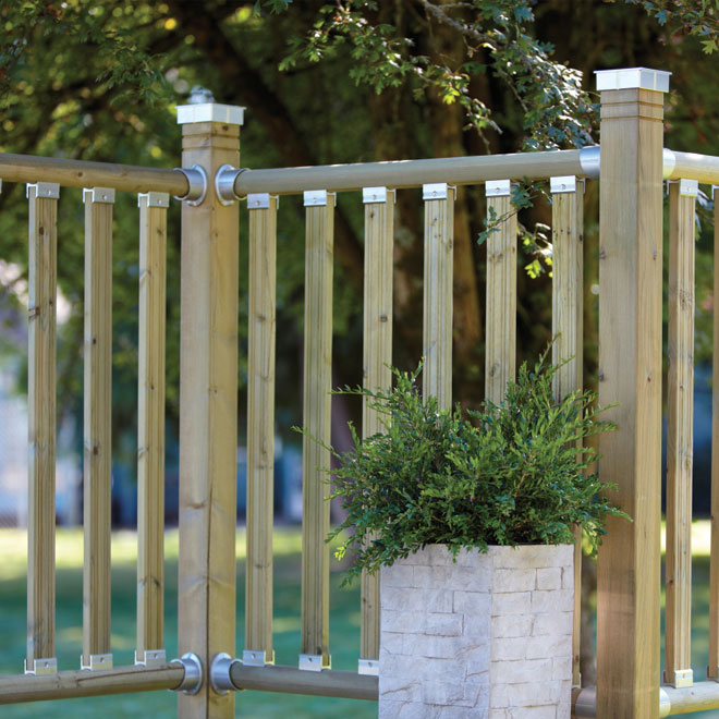"""Axxys dek"" Handrail"