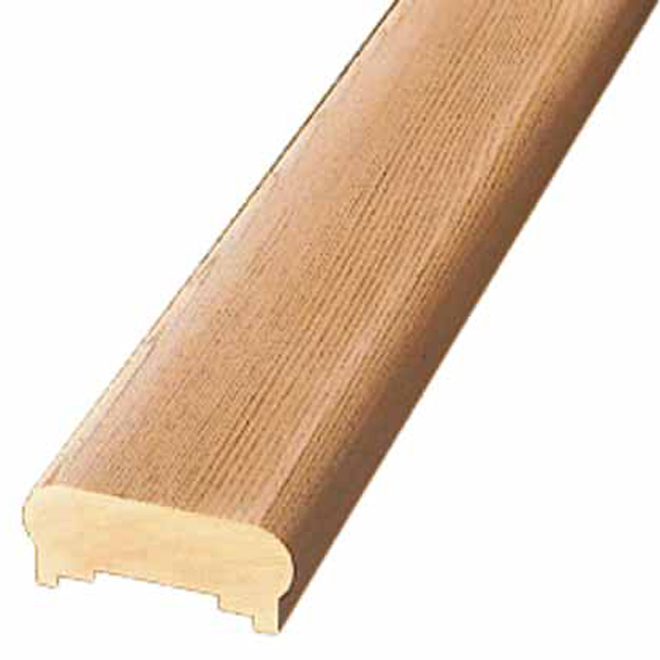 """Capuchon pour main courante en bois, 1 3/8"""" x 3 1/8"""" x 6'"""