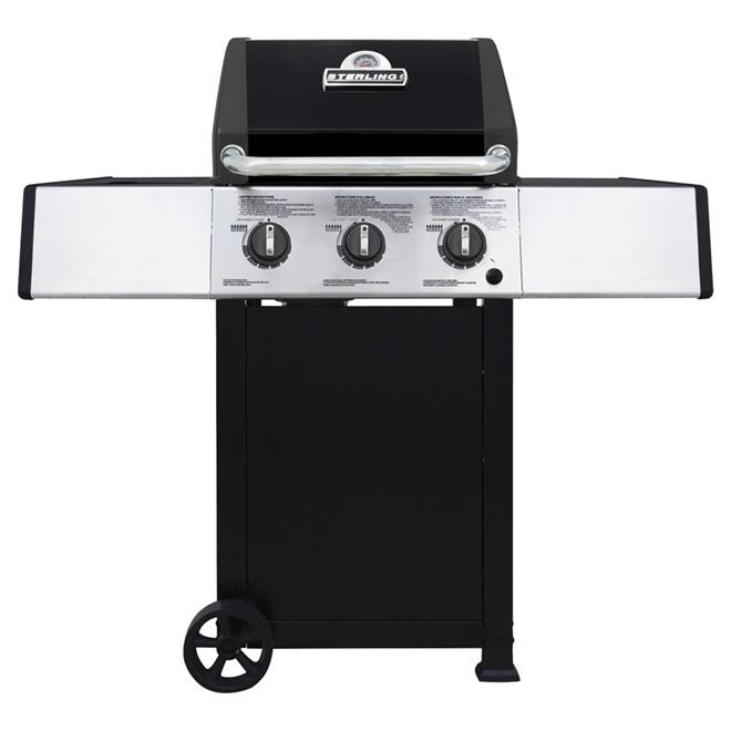 Barbecue au gaz propane, 30 000 BTU, 440 po.ca.
