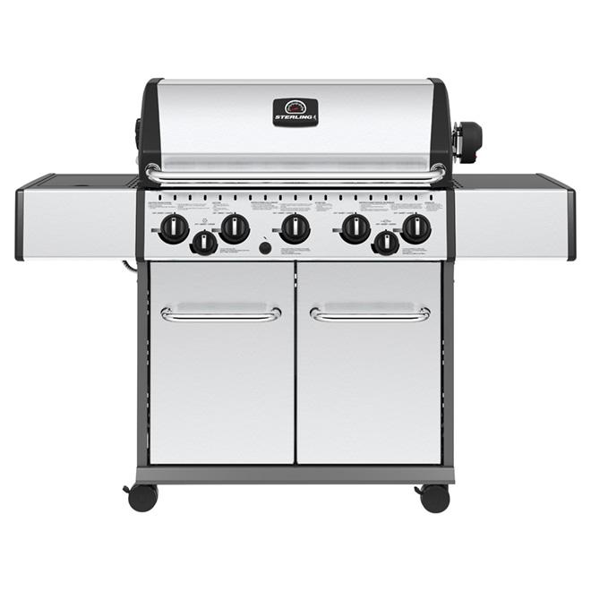 Barbecue au gaz propane, 75 000 BTU, 805 po², inox