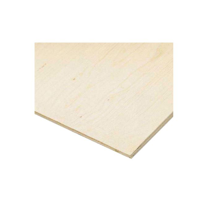AFA Standard Spruce Plywood - 3/8-in x 4-ft x 4-ft - Exterior