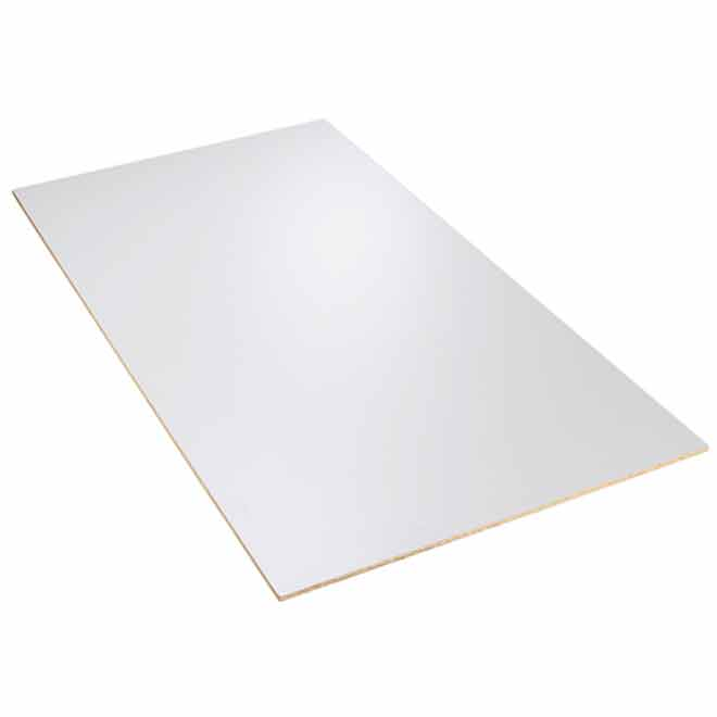Canwel Melamine Table Top - 30'' x 72'' - White 895589952