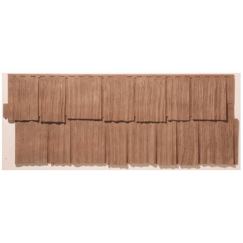 """Revêtement extérieur, 19 x 48"""", cèdre traditionnel"""