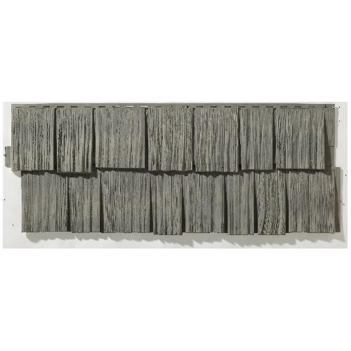 """Revêtement extérieur, 19 x 48"""", gris antique"""