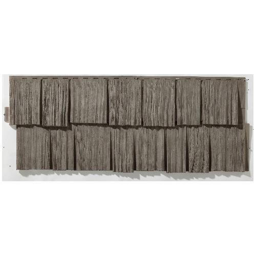 Novik Outdoor Siding - 19 x 48 - Grey Charcoal 100070013A