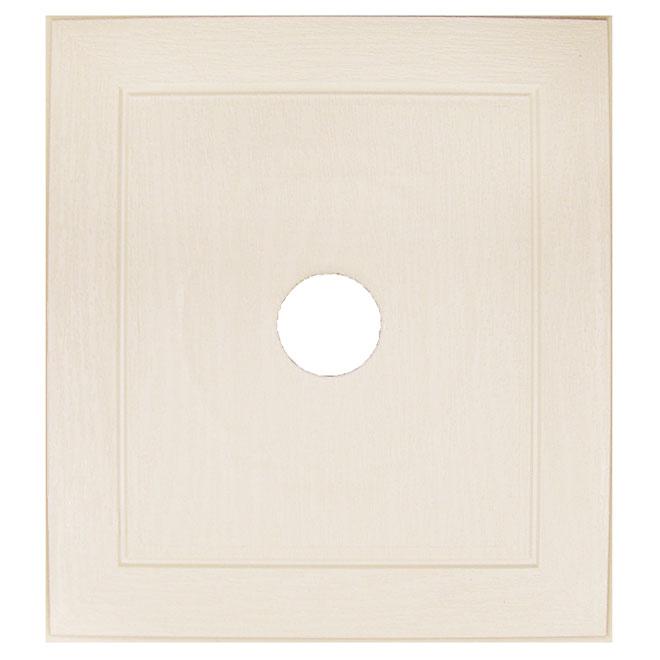 Plaque de montage universelle beige cendre