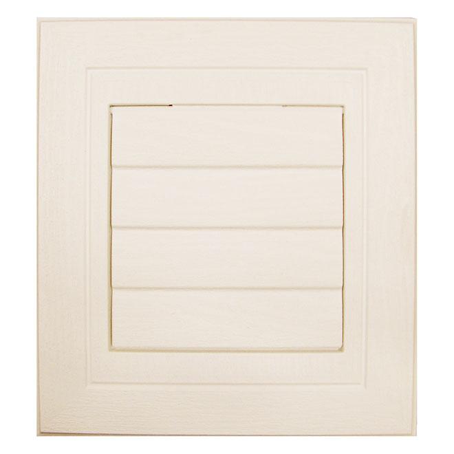 Plaque de ventilation beige cendre