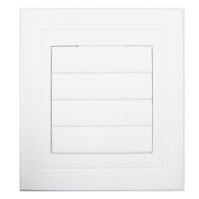 Plaque de ventilation blanc