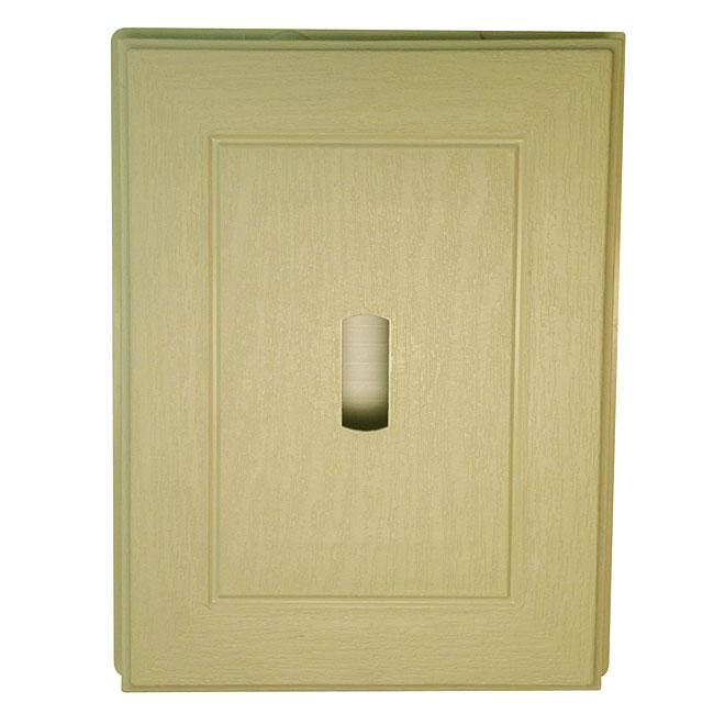 Mini plaque beige cendre
