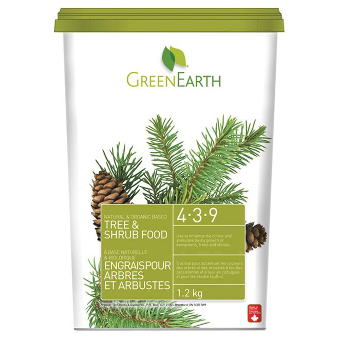 Engrais pour arbustes et conifères 1,2 kg