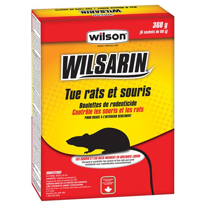 Pastilles d'appât cellulose pour rats et souris