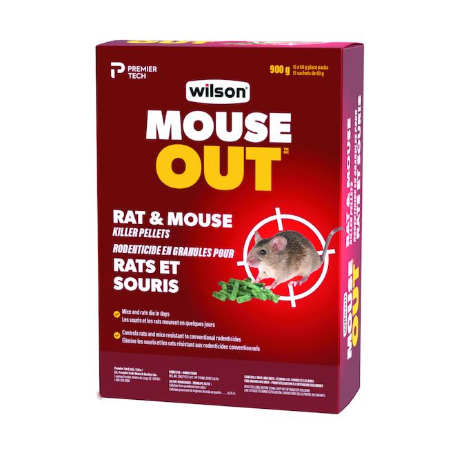Appât en granules pour rats et souris « Wilsarin »