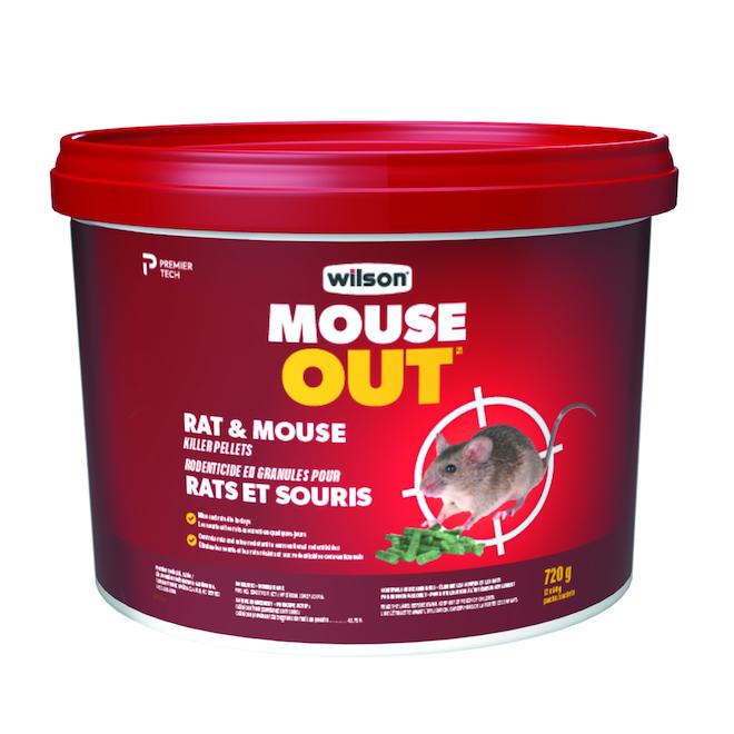 Granules de rodenticide tue rats et souris Predator, 900g