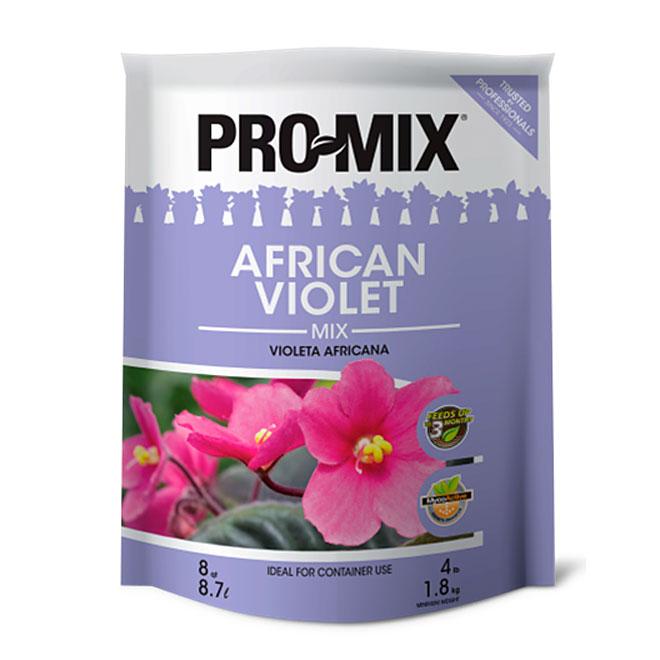 Terreau pour violette africaine