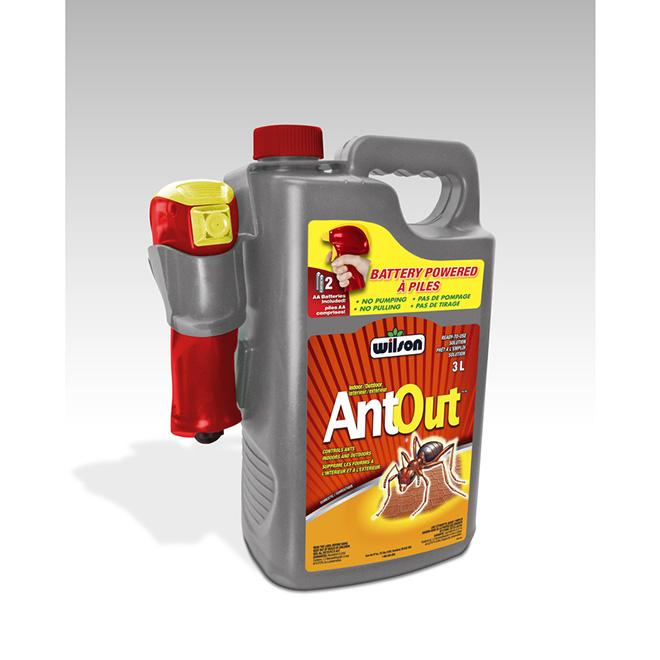 """""""AntOut"""" Insecticide"""