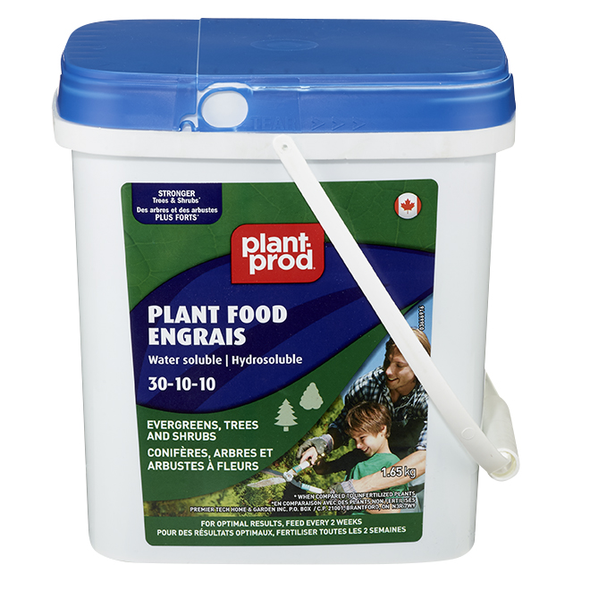 Engrais hydrosoluble pour conifères et arbustes, 1,65 kg