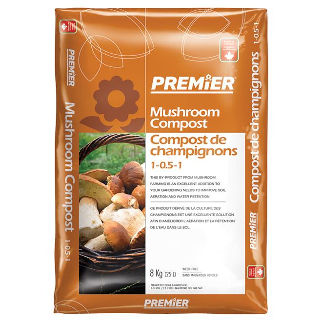 Premier Mushroom Compost - 25 L 4907021