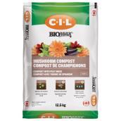 Compost de champignons Biomax(MD), 12,5 kg